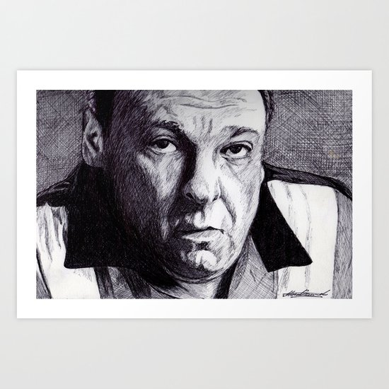 Mr.Soprano Art Print