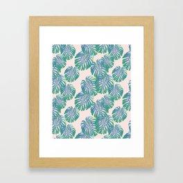Go Tropical Framed Art Print