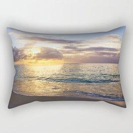 Bubble Sunset Cayman Islands Rectangular Pillow