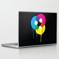 vinyl Laptop & iPad Skins featuring Melting Vinyl by Davies Babies