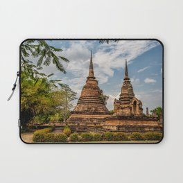 Buddhist Park Laptop Sleeve