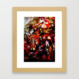 Raw material Framed Art Print