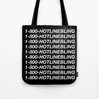 hotline miami Tote Bags featuring HOTLINE  by I Love Decor