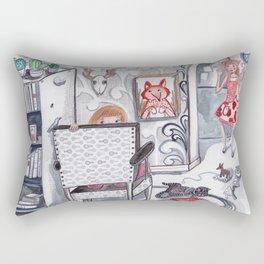 Never a Dull Moment Rectangular Pillow