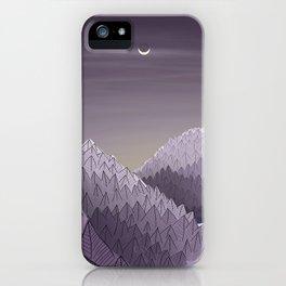 Winter Rising iPhone Case