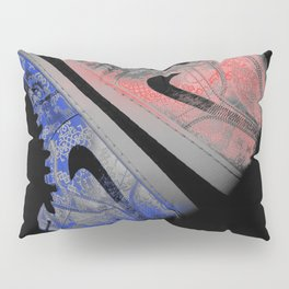 Red White and Blue J's Pillow Sham