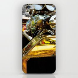 FLAMES AND CARBS iPhone Skin