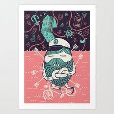 The Captain´s Dream Art Print