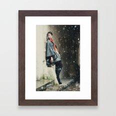 Snowscape IV Framed Art Print