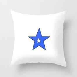Flag of somalia 2 -Somali,Soomaaliya,الصوما ,Mogadishu,Muqdisho, Xamar Throw Pillow