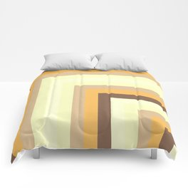 Brown Number 1 Comforters