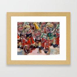 Hummel Funnel Framed Art Print