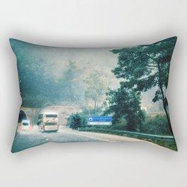 Somewhere Before the Tunnel, Turkey Rectangular Pillow