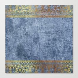 Blue Egypt Canvas Print