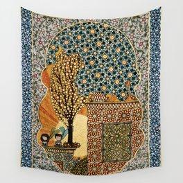 Night Rising Wall Tapestry