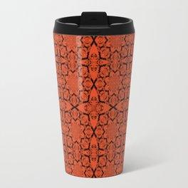 Flame Geometric Travel Mug