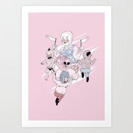 DAWN OF HUMANS Art Print