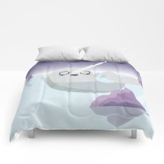 Norman the Near-Sighted Narwhal Comforters