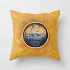 Somewhere in the Sun Throw Pillow