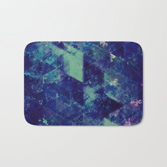 Abstract Geometric Background #20 Bath Mat