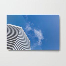 Clean Skyscraper Metal Print