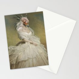 The Lady Organza Stationery Cards