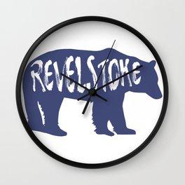 Revelstoke Bear Wall Clock