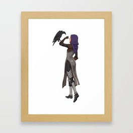 DA crew Leliana Framed Art Print
