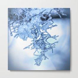 Winter Snowmelt by Murray Bolesta! Metal Print