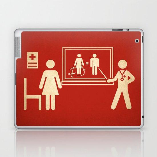 Sex change Laptop & iPad Skin