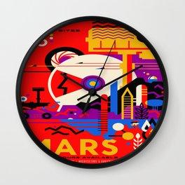 Mars Tour : Galaxy Space Wall Clock
