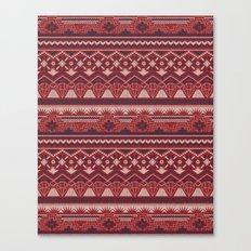 CRYSTAL AZTEC   Canvas Print