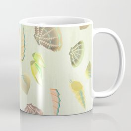Sea shells - Aquamarine Coffee Mug