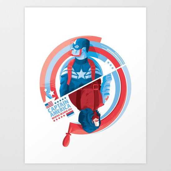 The Winter Soldier Art Print