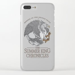 The Summer King Chronicles - Member of the Gryfon Pride Clear iPhone Case