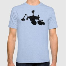 Curiosity Tri-Blue X-LARGE Mens Fitted Tee