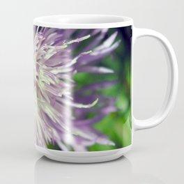 Macro Shot of a cornflower Coffee Mug