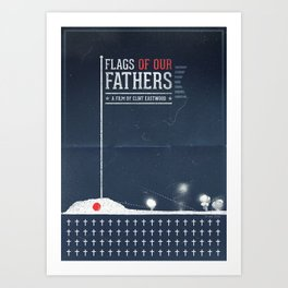 Flags of Our Fathers Art Print