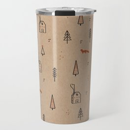 Christmas into the Woods Travel Mug