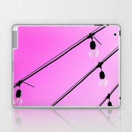 Pink Pop Art Fun Light Bulbs - Sharon Cummings Laptop & iPad Skin