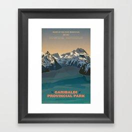 Garibaldi Park Poster Framed Art Print
