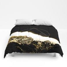 Golden Mountain Comforters
