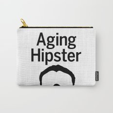 Aging Hipster Carry-All Pouch