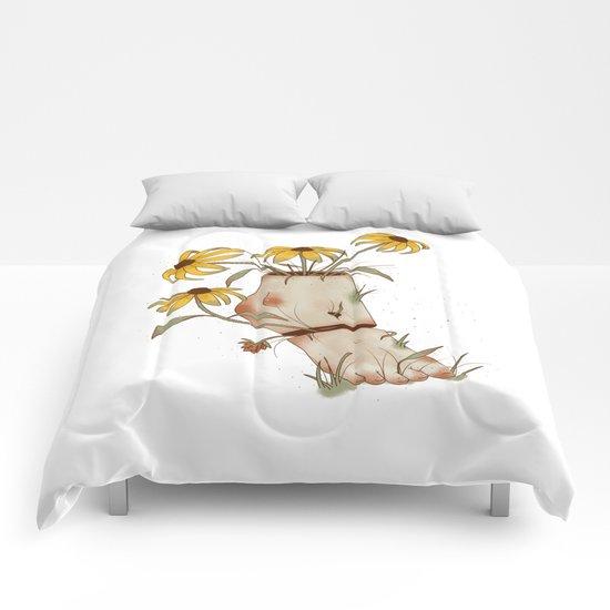 TE ESTOY ESPERANDO Comforters