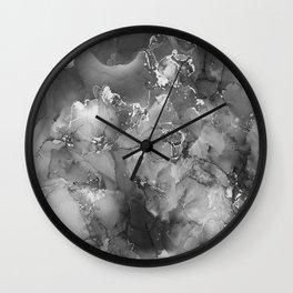 Star Theory Charcoal Wall Clock