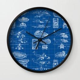 Classified Wall Clock