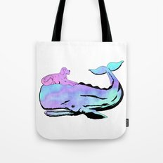 Oh, Whale! Tote Bag