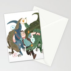 The raptors Stationery Cards