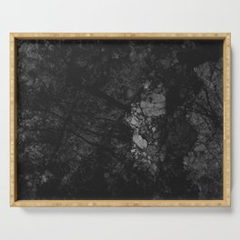 Luxury Black Marble Serving Tray