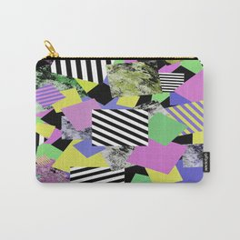 Crazy Squares - Abstract, Geometric Pop Art Carry-All Pouch